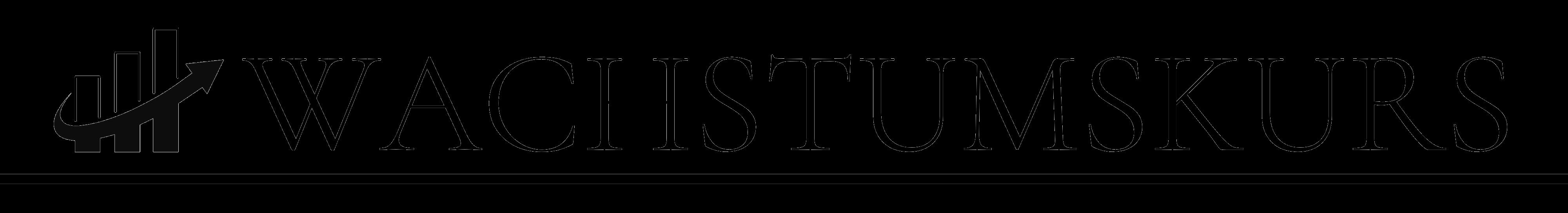 Wachstumskurs Logo Vermögensaufbau mit Aktien