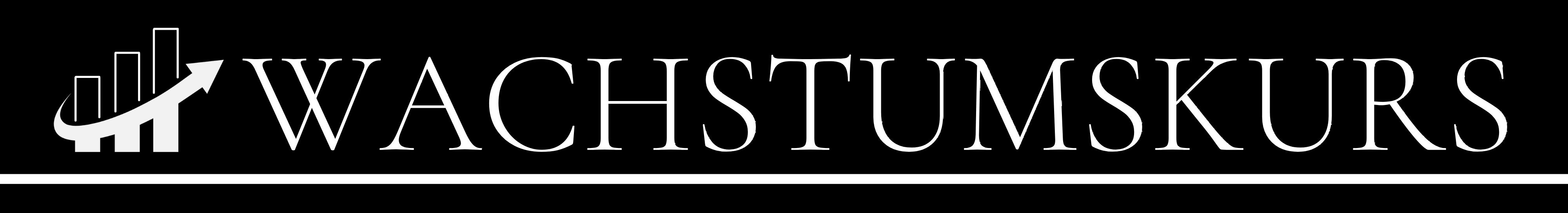 Wachstumskurs Logo weiß