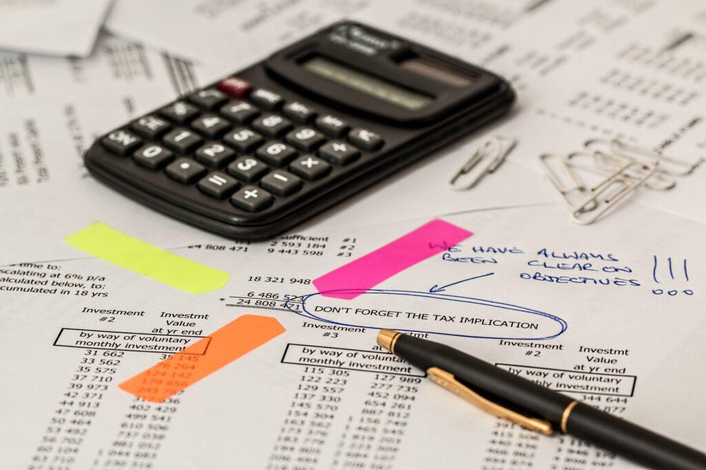 Steuern bei Dividenden