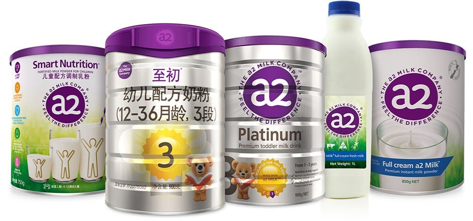 a2 milk in china