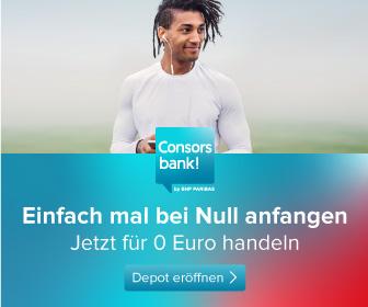 Consorsbank ETF Sparplan